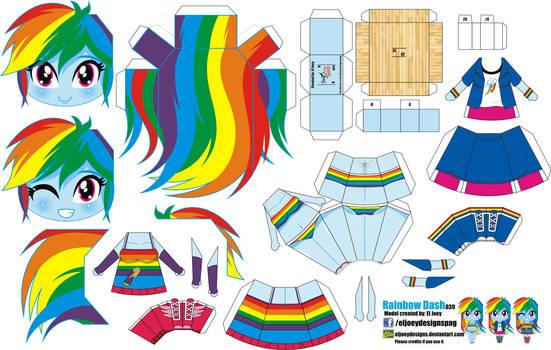 Rainbow Dash (Joey's Chibi Girls 039)