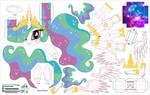 Princess Celestia (Joinys 009)