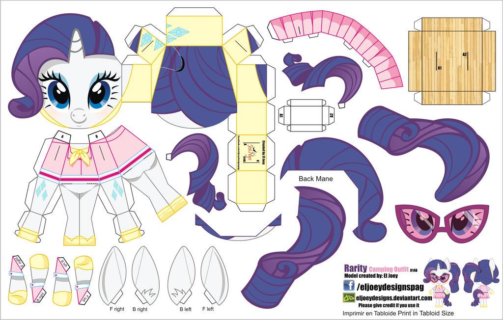 Как сделать платье пони из бумаги