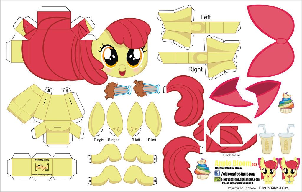 Как сделать пони из бумаги летающую