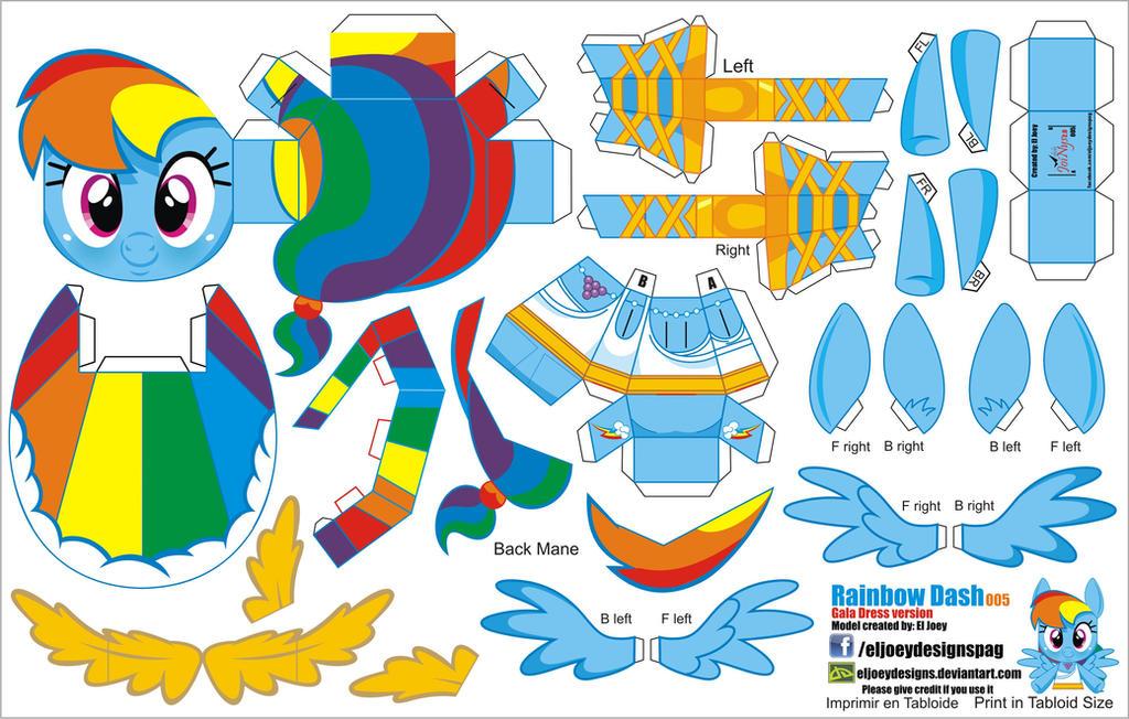 Бумажная радуга как сделать