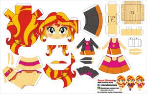Sunset Shimmer Equestria Girls (JCG 056)