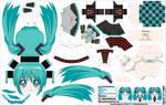 Hatsune Miku (JCG 109) by ELJOEYDESIGNS