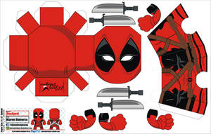 Deadpool papercraft