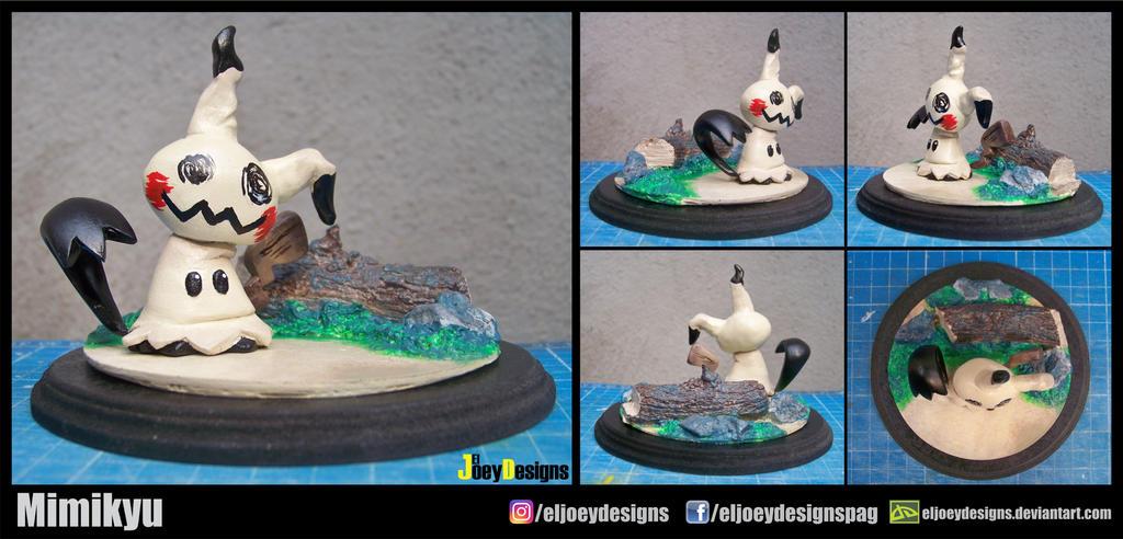 Mimikyu figurine by ELJOEYDESIGNS