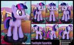 Twilight Sparkle sculpture