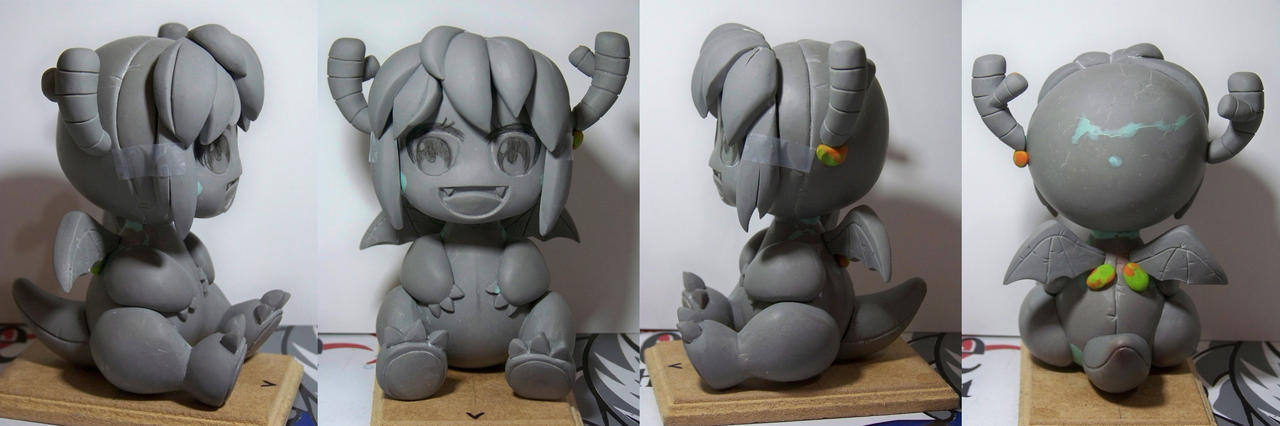 WIP Chibi Tohru dragon suit