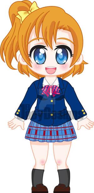 Chibi Honoka Kousaka / Uniform ver