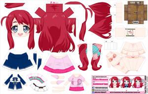Sakura Minamoto (JCG 140) by ELJOEYDESIGNS