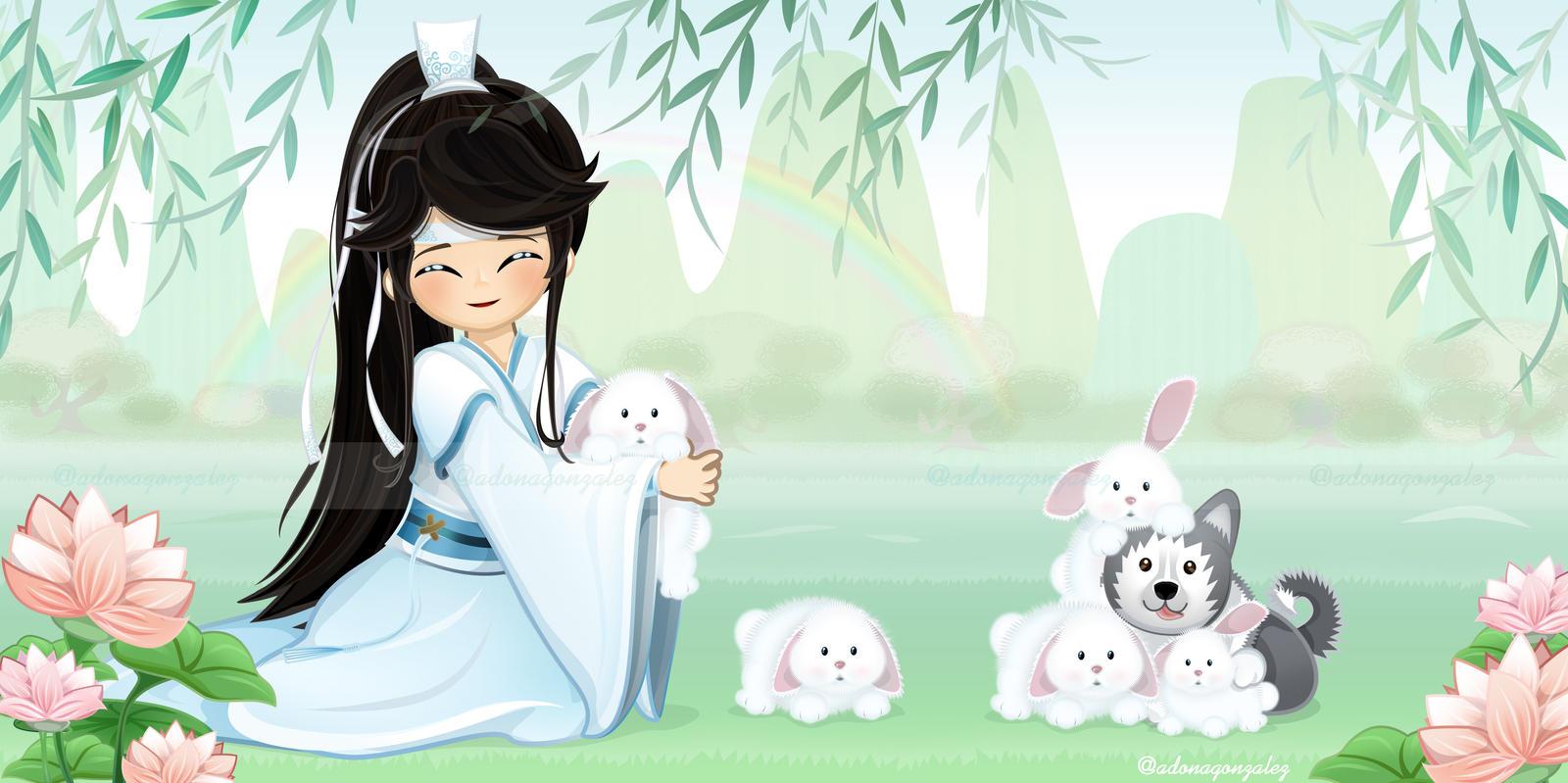 Version Wallpaper Lan Sizhui Mo Dao Zu Shi Tfod By