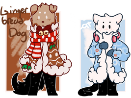 Open | Gingerbread and Snowmen Auction by SomeOrdinaryArtists