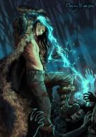 Black Desert Online Sorcerer by GrayBarsa