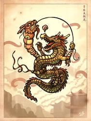 Chinese Dragon by einen