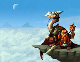 The Postal Dwarf by einen