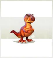 Baby T-Rex by einen