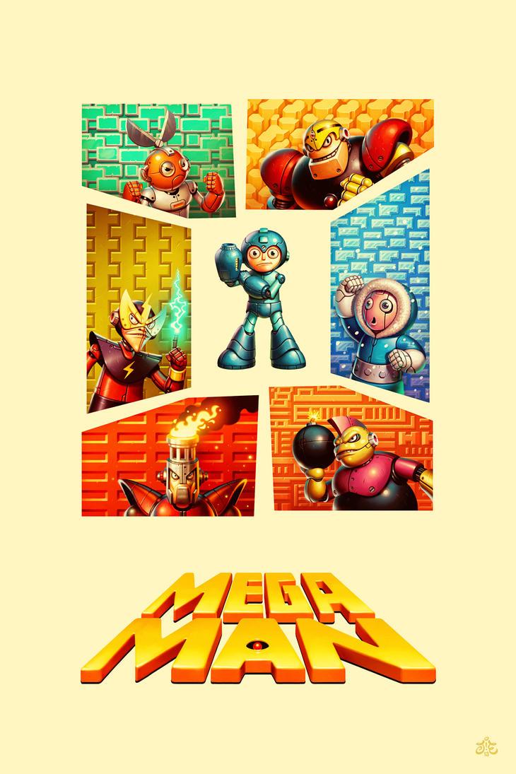 Mega Man by einen