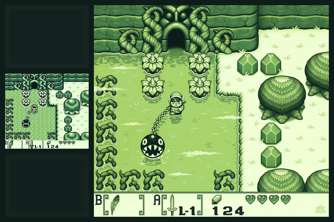 Zelda Links Awakening Remake By Einen On Deviantart