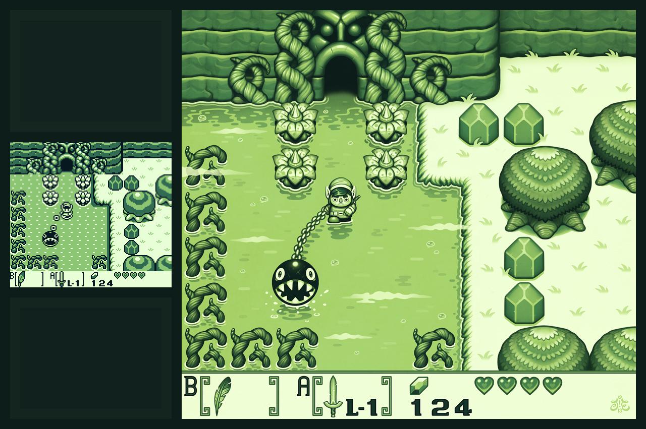 Zelda: Link's Awakening Remake by einen
