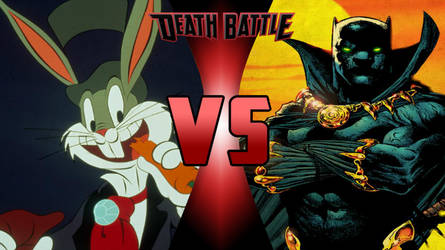 Bugs Bunny VS. Black Panther by supercharlie623