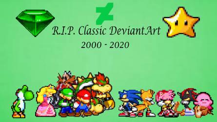 R.I.P. Classic DeviantArt 2000 - 2020
