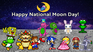 Happy National Moon Day!