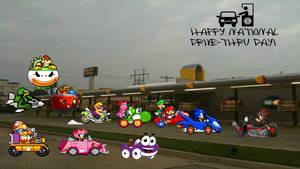 Happy National Drive-Thru Day!