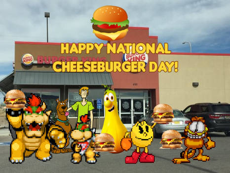 Happy National Cheeseburger Day!