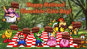 Happy National Chocolate Cake Day!