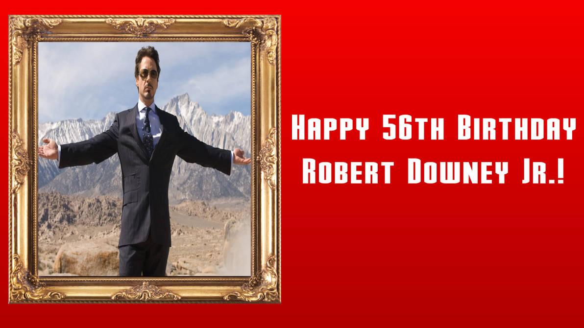 Happy 56th Birthday Robert Downey Jr
