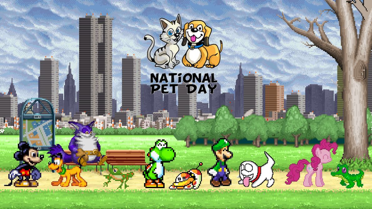 Happy National Pet Day