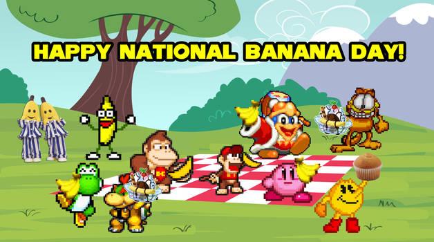 Happy National Banana Day!