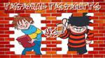Horrid Henry VS Dennis The Menace by supercharlie623