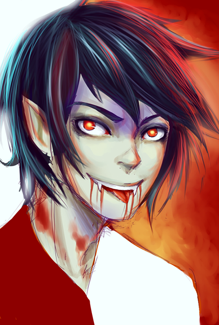 Marshall Lee sketch by Timsel-kun