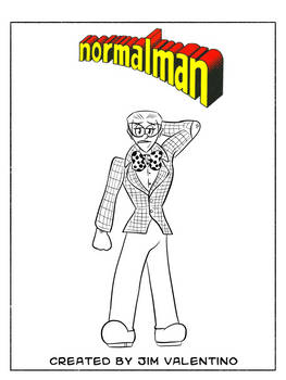 Daily Drawing Month 2021 - Day 01 normalman