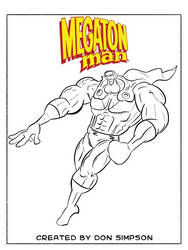 Daily Drawing Month 2021 - Day 02 Megaton Man