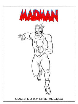 Daily Drawing Month 2021 - Day 03 Madman