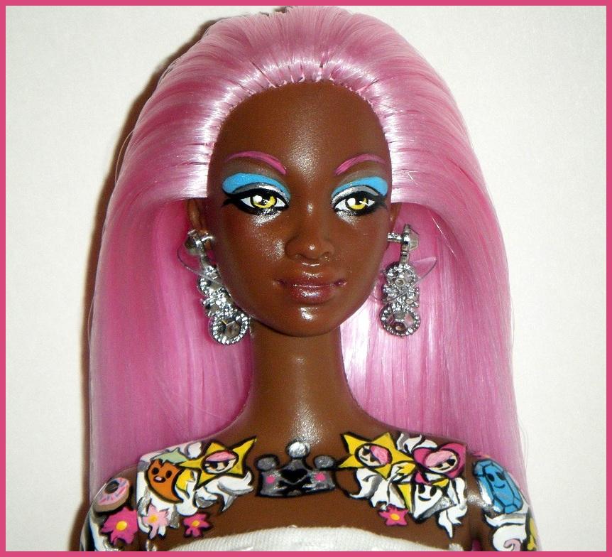 tokidoki Barbie - African American version by kalavista