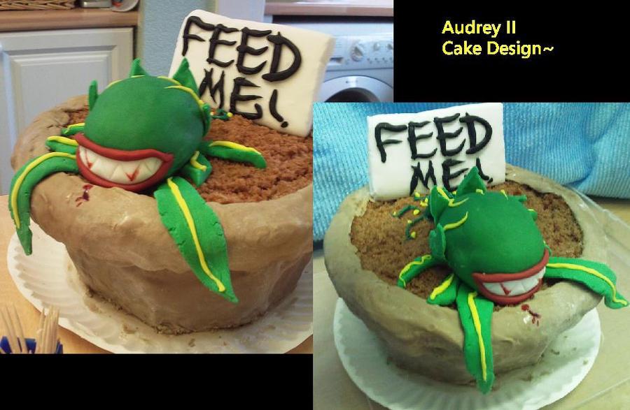 Audrey Ross Cake Artist : Audrey II Cake by innyxsus on DeviantArt