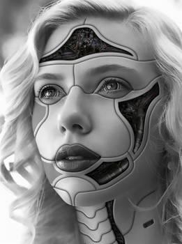Scarlett Johansson - cyborg 1