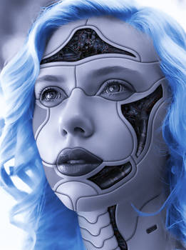 Scarlett Johansson - cyborg 2