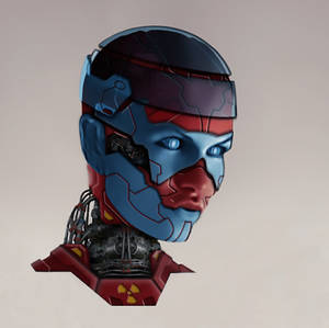 Cyborg 16945153 Head