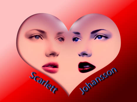 Scarlett Johansson - heart