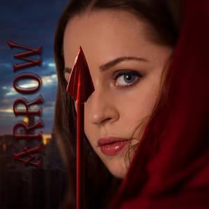 Red arrow by joebudai