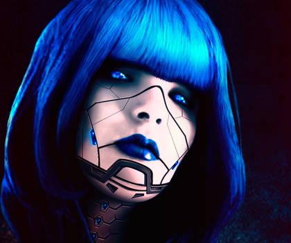 Cyborg Ulya face
