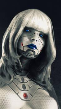 Cyborg Ulya white