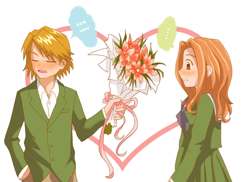 Image result for white day anime