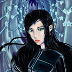 Arya from Eragon