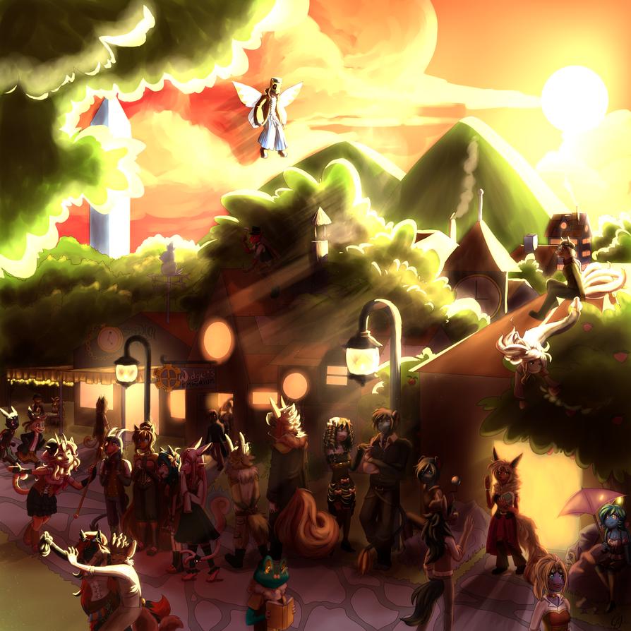 Cog Village by Ultra-Adeline