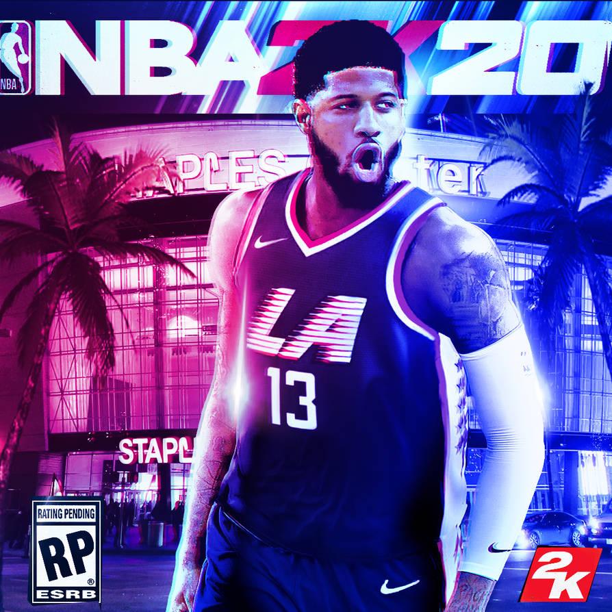Nba 2k 20 Wallpaper: Paul George Clippers NBA 2K20 EDIT By MikiasB13 On DeviantArt