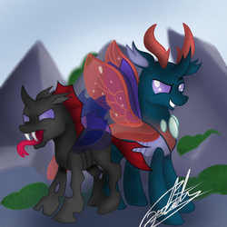 Pharynx new form- to change a changeling by SweetKllrVane